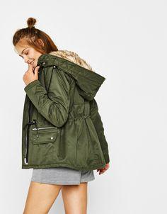 Lo último en moda de mujer - Otoño Invierno 2017 | Bershka Trench, Military Jacket, Suits, Jackets, Clothes, Fashion, Latest Fashion, Spring Summer, Fall Winter