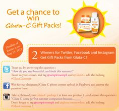 Gluta-C Ultimate Summer Beauty Contest! « Sample Room – Official Blog Beauty Contest, Summer Beauty, This Or That Questions, Blog, Blogging