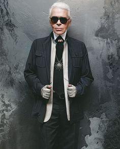 """""""Choupette domina a minha vida. Ela vem primeiro. Eu, depois"""", diz Karl  Lagerfeld em entrevista exclusiva 4928a603af"""
