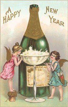 Vintage Happy New Year | Een fijn 2012 gewenst!