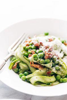 Asparagus noodles!