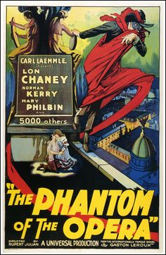 "October 02: ""Phantom of the Opera"" (1925) Lon Chaney, Sr."