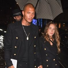Chloe Green & Jeremy Meeks are seen at the George lv hotel in Paris