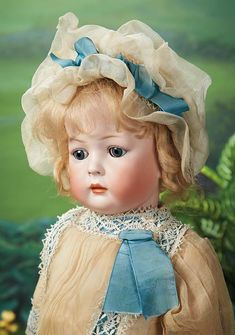 What Frolicks Are Here: 161 German Bisque Character Toddler, 169, by Kley and Hahn with Wonderful Costume