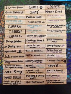 drinking jenga - Google Search