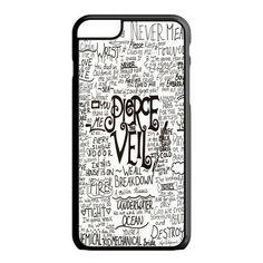 Pierce The Veil Lyric Logo Quote Galaxy iPhone 6S Case