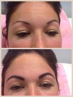 Marvelbrow before & after