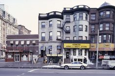 Kenmore Square back in the day, before Silber ripped out its heart