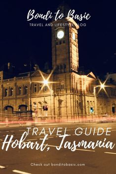 With lots of heritage building, and rich history, mountains, forests, national parks and rustic oceans for days, Hobart is the perfect place to relax from city life or just a great place for a mini getaway in Australia. Here are a few highlights that are must-see's when spending a couple of days in Hobart, Australia! | Hobart Travel Tips | Hobart Travel Guide | Australia Travel Tips | #Australiatravel #Australia #Hobart #traveltips