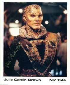 Julie Caitlin Brown as NA'Toth of Babylon 5 8 x 10 Autograph Reprint | eBay