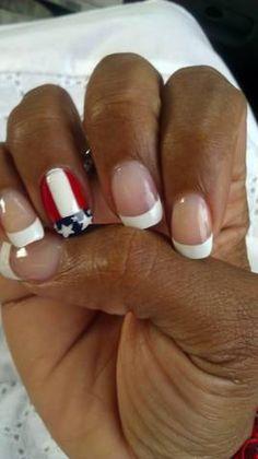My Patriotic Nails