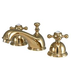 Bring French Country Style Into Your Bathroom With This Elegant Polished  Brass Bathroom Faucet With Your Choice Of Cross Or Lever Handles. This Preu2026