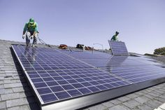 YESS!! -- Direct ownership of #solar power panels is expected to overtake third-party ownership, as more consumers choose to buy, rather than lease, their panels....