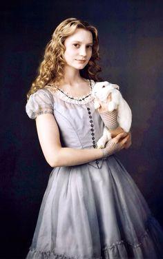 Alice In Wonderland - Mia Wasikowska. Add her to your Endorfyn Likes: www.endorfyn.com/us/home?like=Mia%20Wasikowska
