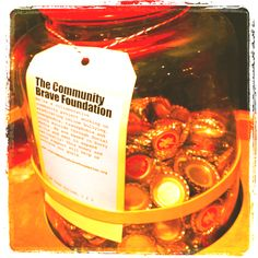 So grab a bite to eat from @GrilldBurgers and take a photo with the @CommunityBrave jar and send it in to us! Bon Apetite!