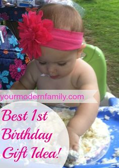 This is such a touching idea!    Idea for first birthday party : the no gift birthday party