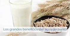Agua de avena para perder peso, bajar el colesterol y controlar la diabetes