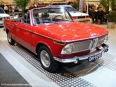 1968 BMW 1600 Cabriolet.  A guilty European pleasure...I love these cars...