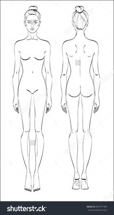 Human Body Template Female By Myraethcorax Drawings In 2019 Pinterest Drawing And Chart