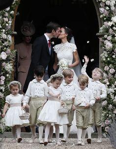 <p><em>[Photo: PA]</em> </p> Kate Middleton, Pippa Middleton Wedding Dress, Middleton Family, Pippas Wedding, Wedding Gowns, Wedding Photos, Wedding Ceremony, Wedding Flowers, Wedding Outfits