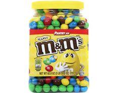 Mars M&M's Peanut Chocolate Candies Jar 62 oz. M M Candy, Candy Jars, Candy Buffet, Mars Chocolate, Chocolate Candies, Peanut M&ms, Colorful Candy, Keto Snacks, Food Cravings