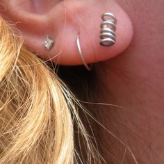 Sterling Silver Post Earrings  Spring by ArtisticIntentions, $23.00