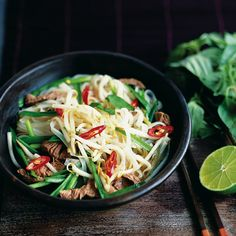 This delicious spicy soup recipe takes a while to make but very little effort. The techniques used to make it are possibly a legacy of the French colonisation of Vietnam.