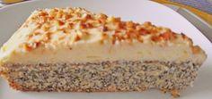Illes super schneller Mohnkuchen ohne Boden mit Paradiescreme und Haselnusskrokant 59