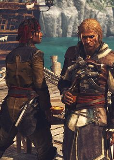 Mary Read/James Kidd and Edward Kenway