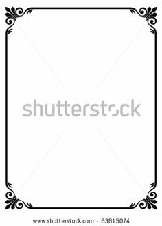 Vector download roman style black ornamental decorative frame see a rich collection of stock images vectors or photos for borders you can buy on shutterstock junglespirit Image collections