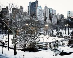 Central Park Ice Skating - New York City Photography from Vita Nostra