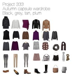 """""""Project 333 autumn capsule wardrobe"""" by lillyicity on Polyvore featuring Uniqlo, Jigsaw, Tod's, Reiss, ASOS, Frame Denim, Fine Collection, Rupert Sanderson, Oasis and H&M"""