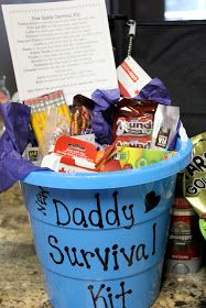 Simply Made...with Love: Daddy Survival Kit & Hospital Survival Kit