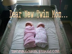 Surviving Our Blessings: TwinsDay Wednesday: For You, New Twin Mom... this is awesome!