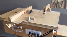 Homemade 4 in 1 Workshop (table saw, router table, disc sander jigsaw ta...