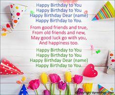 happy birthday invitation card with name n song Happy Birthday Maria, Unhappy Birthday, Happy Birthday Blue, Happy Birthday Jesus, Singing Happy Birthday, Friend Birthday, Birthday Greetings, Birthday Celebration, Beatles Birthday