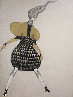 Shelsey Birch fashion Illustrations