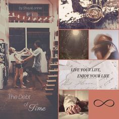 Aesthetic for The Debt of Time written by ShayaLonnie. When Hermione finds a way to bring Sirius back from the Veil, her actions change the rest of the war. Little does she know her spell restoring him to life provokes magic she doesn't understand and sets her on a path that ends with a Time-Turner. Link: https://www.fanfiction.net/s/10772496/1/The-Debt-of-Time