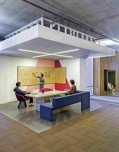 Проект офиса для компании Cisco в Сан-Франциско