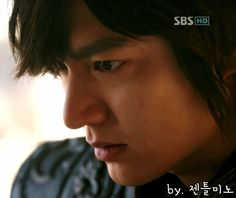That killer gaze. Such intensity.  Lee Min Ho in Faith