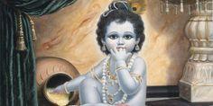 Krishna Lilas - The Nectarian Pastimes of the Sweet Lord Story Of Krishna, Krishna Lila, Bal Krishna, Krishna Statue, Radha Krishna Love, Shree Krishna, Radhe Krishna, Bhagavata Purana, Lord Balaji