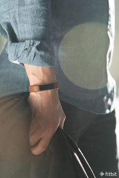 This genuine brown leather accessory band for Fitbit Alta HR and Fitbit Alta creates a classy look that's right for daytime, nighttime or anytime. Fitness Watches For Women, Watches For Men, Best Fitness Watch, Waterproof Fitness Tracker, Fitness Wristband, Fitbit Alta, How To Look Classy, Leather Accessories, Cool Gifts