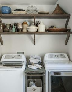 REMODELISTA: Rehab Diary: Amanda Pays and Corbin Bernsen Air Their Dirty Laundry    http://www.remodelista.com/posts/steal-this-look-amanda-pays-corben-bernsen-laundry-room-utility-room
