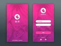 Mk Login page design
