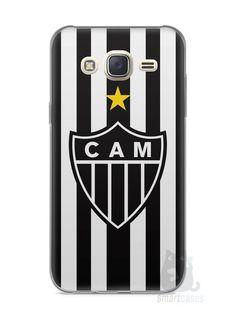 Capa Capinha Samsung J7 Time Atlético Mineiro Galo #1 - SmartCases - Acessórios para celulares e tablets :)