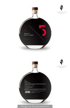 5 Balsamic Estate #Vinegar by World Excellent Products SA - http://www.packagingoftheworld.com/2014/10/5-balsamic-estate-vinegar.html