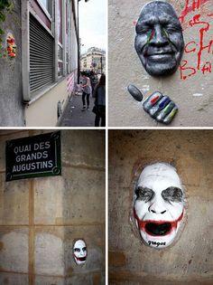 Facing the Art: Playful Urban Art in Paris Streets