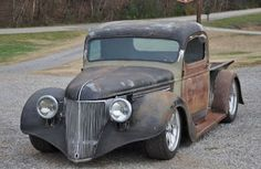 American Rat Rod Cars & Trucks For Sale: 1939 Chevrolet Rat Rod Pickup For Sale In Tennesse...