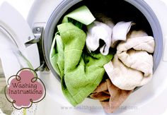 How to properly wash Norwex Microfiber... or any microfiber cloths, for that matter