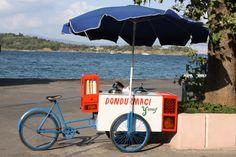 Dondurmacı; der Eisverkäufer auf der Insel Burgaz
